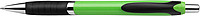 CELESTIN Kuličkové pero, modrá náplň, černý klip a úchyt,zelené