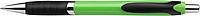 CELESTIN Kuličkové pero, modrá n., černý klip a úchyt,zelené