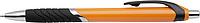 CELESTIN Kuličkové pero, modrá n., černý klip a úchyt,oranžové