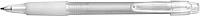 BANGO transparentní kuličkové pero, bílá