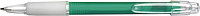 BANGO transparentní kuličkové pero, zelené