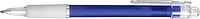 BANGO transparentní kuličkové pero, modré