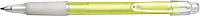 BANGO transparentní kuličkové pero, žluté