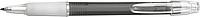 BANGO transparentní kuličkové pero, černé - psací potřeby