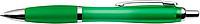 JORGE Plastové kuličkové pero, zelené