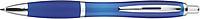 JORGE Plastové kuličkové pero, modrá