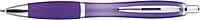 JORGE Plastové kuličkové pero, fialové