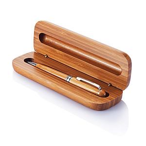 Bambusové kuličkové pero v dárkové krabičce