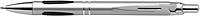 FUNGUS Kuličkové pero, modrá náplň.,stříbrný klip, tělo stříbrné - psací potřeby