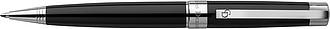 PETRONELA Lakované kuličkové pero s černou náplní, Charles Disckens