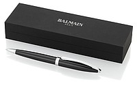 Balmain kovové kuličkové pero, černá