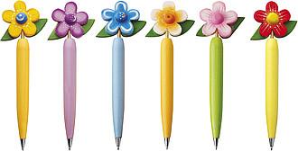 MAZZOLINO Flower kuličkové pero, různé druhy