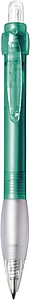 DIANA transparentní kuličkové pero, zelená