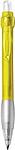 DIANA transparentní kuličkové pero, žlutá