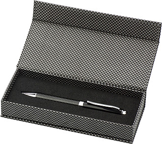 kuličkové pero v dárkové kazetě, černá náplň