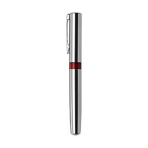 SALZBURG Kovové kuličkové pero s černou náplní, červené