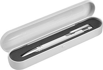 MAKEMA KP se stříbrnými detaily v plechové krabičce, černá n., bílé