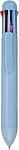 MAHI Vícebarevné kuličkové pero s plastovým tělem, modré