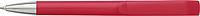 ABRAHAM Kuličkové pero s otočným mechanismem, modrá náplň, červené