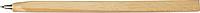 MOJADA Dřevěné kuličkové pero s vyznačeným pravítkem
