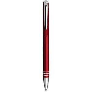 Kuličkové pero, červená