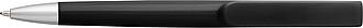Tlačítkové plastové KP s modrou náplní, černé