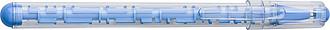 TAROTO Plastové kuličkové pero s puzzle bludištěm, světle modré