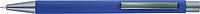 TEZIMIN Kuličkové pero s pogumovaným povrchem a modrou náplní, modré