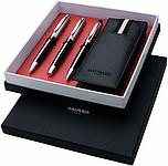 Sada kuličkové pero, roller, tužka v krabičce, černá