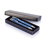 CRIUS 2 Kovová souprava KP se stylusem a mechanické tužky, modrá