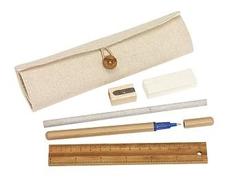 SETIK Psací sada KP, tužka, guma, pravítko, ořezávátko