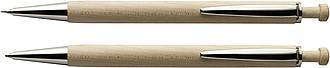 PUKAO Dřevěné kul. pero s tužkou v dřevěné krabičce