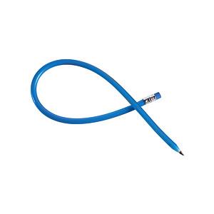 LAPISKA Ohýbací tužka s gumou, plast, modrá