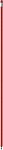 LAPISKA Ohýbací tužka s gumou, plast, červená