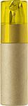 HONZA Tuba s 6 pastelkami a ořezávátkem, žlutá