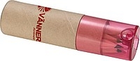 6 mini pastelek v tubě s ořezávátkem, béžová červená