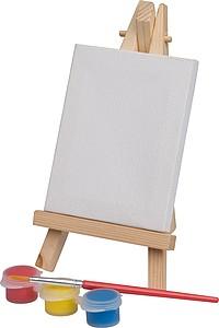 Mini malířský stojan s barvičkami