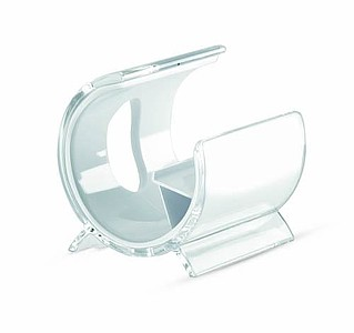 Plastový stojánek na mobil, bílá