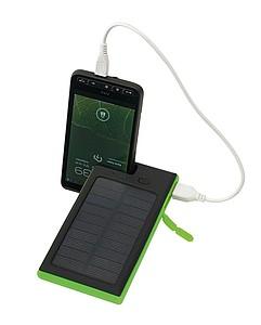 Powerbank s kapacitou 6000mAh a solárním panelem