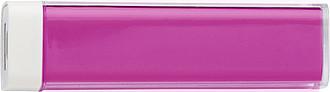 TRAVELO Plastová powerbanka, růžová