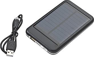 Powerbank 4000mAh se solárním panelem