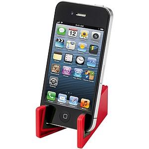 Plastový stojánek na mobil, červená