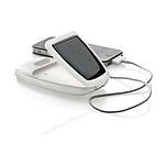 Solární nabíječka na tablet nebo telefon, bílá