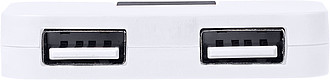 OREK USB 2.0 rozbočovač, bílý