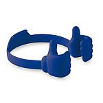THUMBER Stojánek na mobil s motivem zdvižených palců, královská modrá