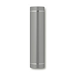 Power banka 2200 mAh ve tvaru válce, barva titanium