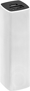 Powerbank s kapacitou 2200mAh, v pouzdře, bílá