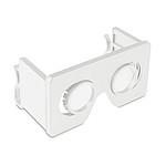 Skládací Brýle pro 3D, bílá