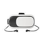 LUXADO Brýle pro virtuální realitu s přiloženými Bluetooth sluchátky