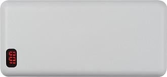 LISATA Powerbanka 20000mAh s displejem, bílá